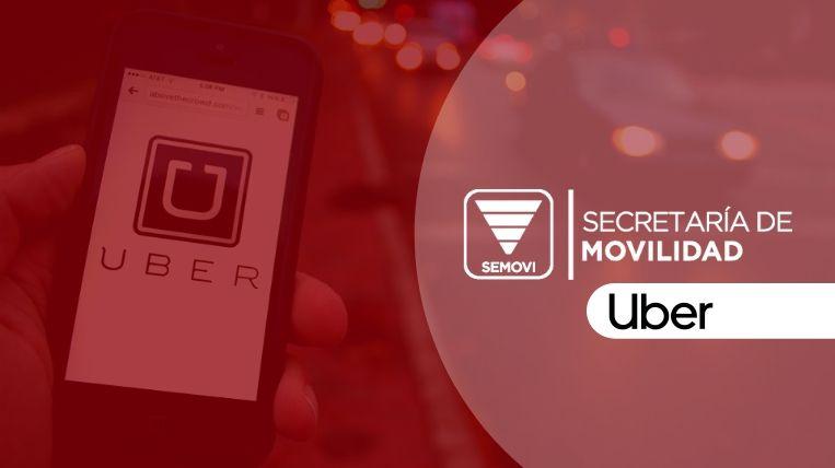 Conoce el reglamento de Semovi para Uber en Ciudad de México