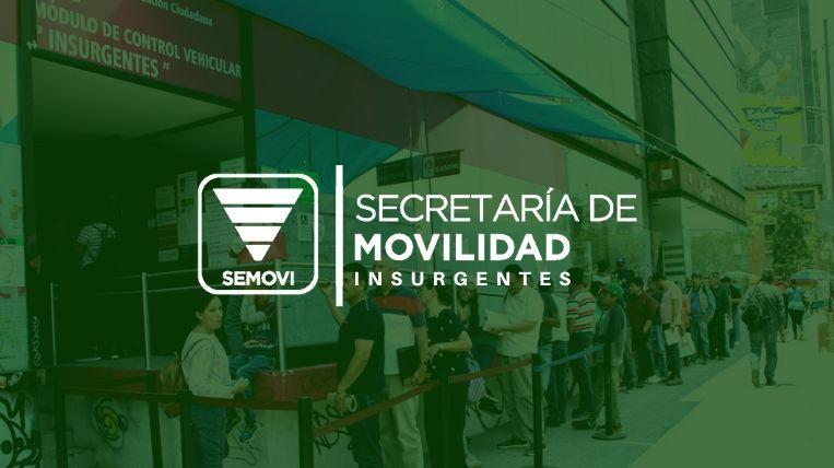Donde queda la Semovi Insurgentes en Ciudad de México