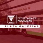 Dónde queda la Semovi Plaza Galerías en Ciudad de México