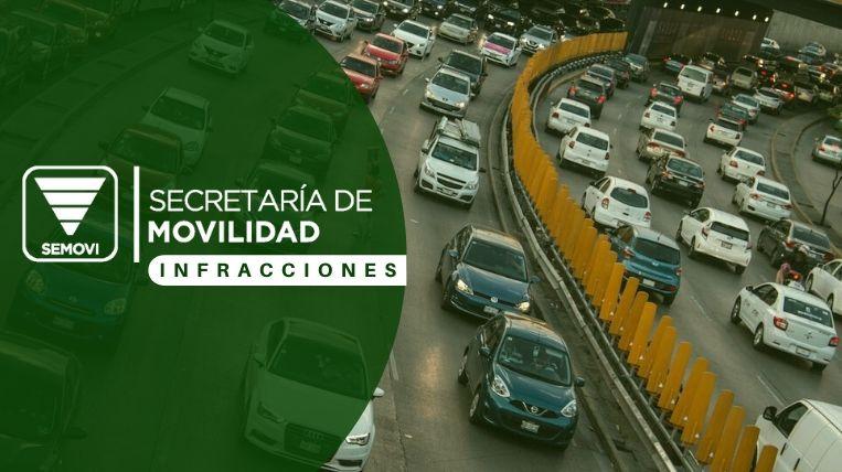 Consulta de infracciones de Semovi en Ciudad de México