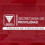 Qué es la tarjeta de circulación de Simovi en Ciudad de México