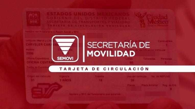 Cómo renovar la tarjeta de circulación de Simovi en Ciudad de México